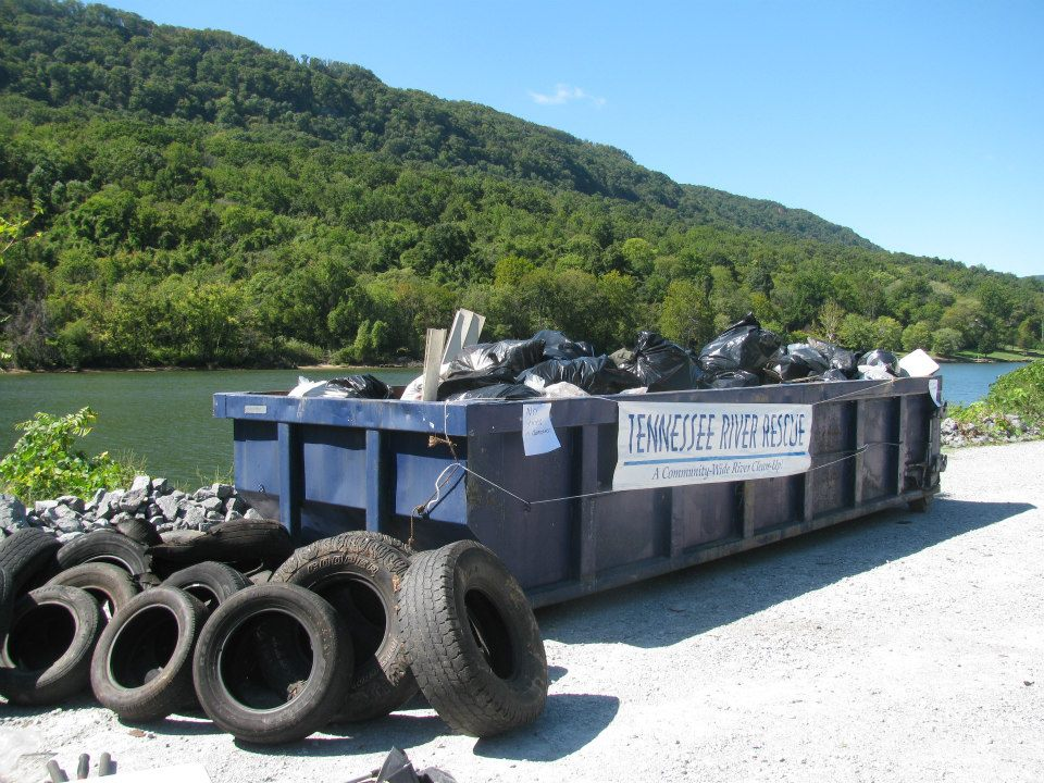 Tennessee River Rescue Dumpster